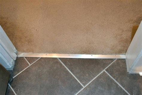 Metal Transition Strips Floor How To Add Trim Transitions