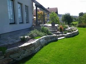 Natursteinmauern Im Garten : eolas garten natursteinmauern steintreppen von fam steinbauer ~ Markanthonyermac.com Haus und Dekorationen
