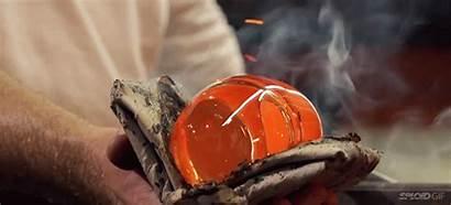 Sand Glass Making Handmade Hard Bottle Melt