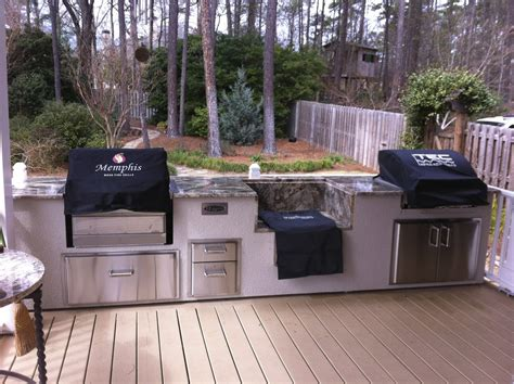 outdoor kitchen designs with smoker pro grill 430 ss fireside outdoor kitchens 7238