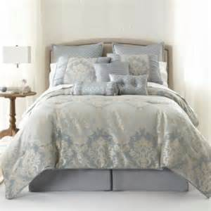 jc penneys bedding home expressions 7 pc jacquard comforter set