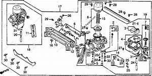 Honda Motorcycle 1982 Oem Parts Diagram For Carburetor