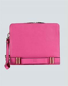 Esin Akan - Pink 'Ascot' Clutch from Number 22 | Garmentory