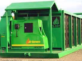 new air burners s 327 air curtain burners in nsw