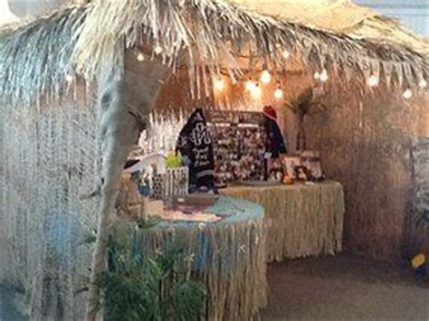 authentica canap tiki hut constructed from a backyard canopy tent