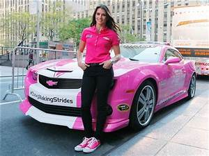 Photos: Danica Patrick to drive pink car all of October ...