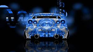 Nissan Skyline GTR R34 Abstract Aerography Car 2014 el Tony