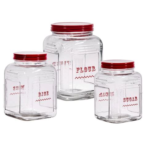 glass kitchen storage canisters 55 best images about storage canisters jars on 3799
