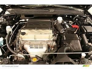 2008 Mitsubishi Galant Es 2 4 Liter Dohc 16v Mivec 4 Cylinder Engine Photo  41602873