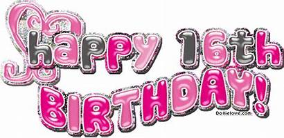 16th Birthday Happy Sweet Sixteen Gifs Graphics