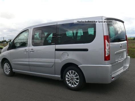 fiat scudo cer 2012 fiat scudo panorama executive l2h1 130 8 seater car photo and specs