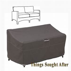 cover for small patio loveseat outdoor sofa furniture love With furniture covers for storage