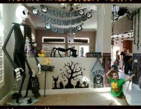 nightmare before christmas birthday party christmas decorating