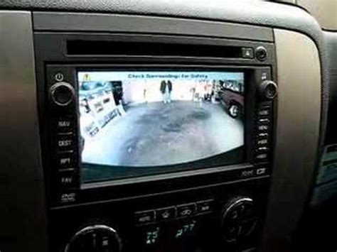 tahoe backup camera youtube