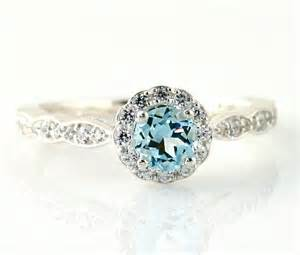 aquamarine wedding rings 25 best ideas about aquamarine engagement rings on aquamarine wedding vintage