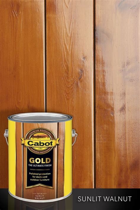 Cabot Gold Deck Stain