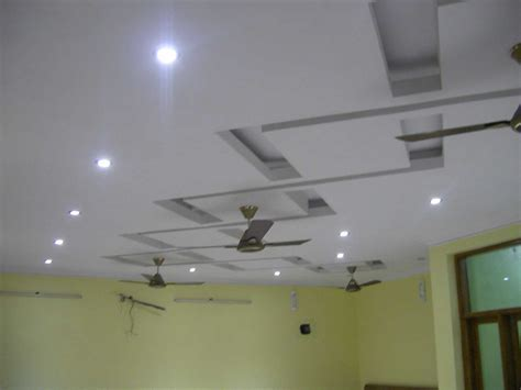 Incredible Simple Pop Design Small Hall With Ceiling