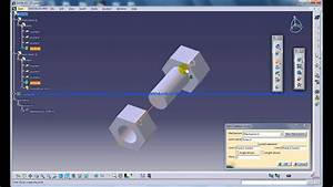 facebook mockup catia v5 digital mockup dmu kinematics screw joint