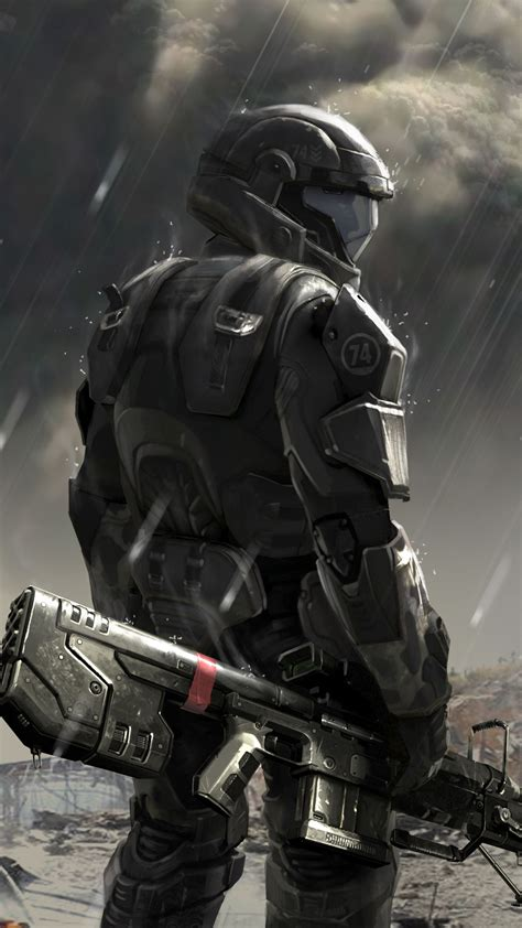 Soldier Concept Halo 4 Best Htc One Wallpapers
