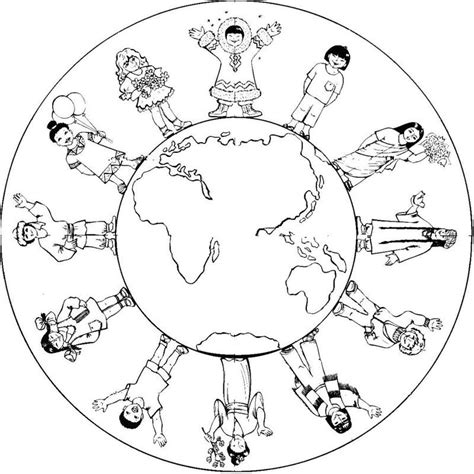 Earth Day World Kindergarten Coloring Page Also see the
