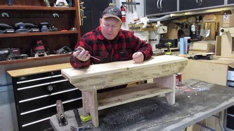 distressed  board bench  secret storage  shoe