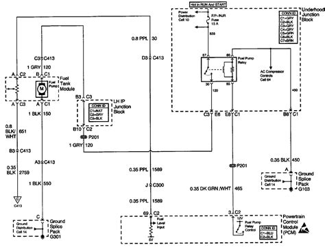 98 Grand Prix Gt Fuse Diagram by 1998 Pontiac Grand Am Spark Wire Diagram