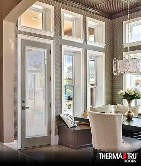 therma tru patio doors with blinds 17 best images about smooth on privacy