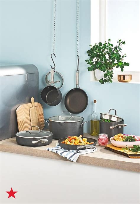 macys kitchen cookware pots pans deals essentials calphalon need macy cooking