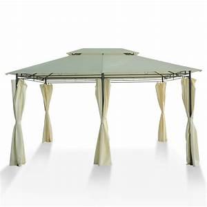 Gartenpavillon Metall 3x4 : gartenpavillon 3x4 m beige online shop gonser ~ Whattoseeinmadrid.com Haus und Dekorationen