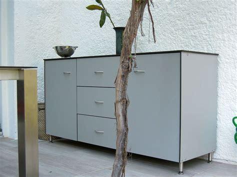 sideboard für aussenbereich rege wetterfeste garten und terrassenm 246 bel mit stauraum