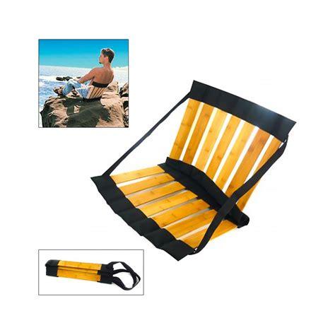siege de sol siège de plage pliant bambou à 18 95