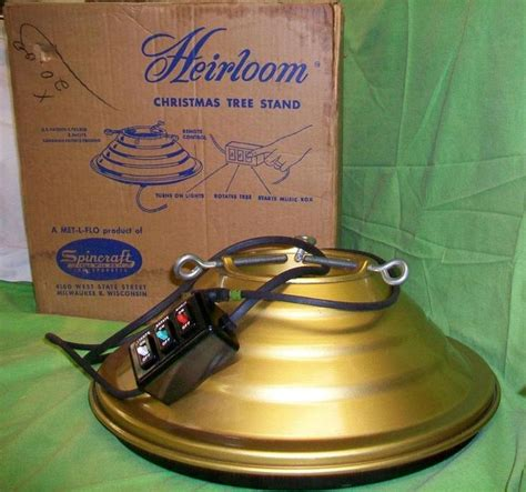 heirloom christmas tree stand toggle switches control