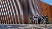 Migrants Out, Wall In: First Section Of Donald Trump's ...