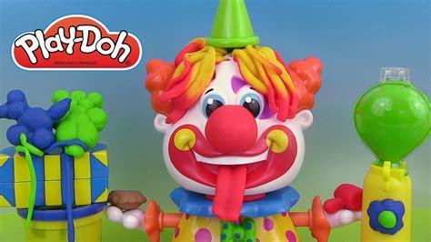 pate a modeler clown play doh clown set p 226 te 224 modeler le clown play doh barbapapa plastilina payasito