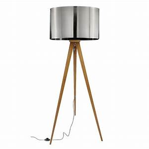 Lampadaire Bois Metal : lampadaire tr pied bois metal k lla koya design ~ Teatrodelosmanantiales.com Idées de Décoration