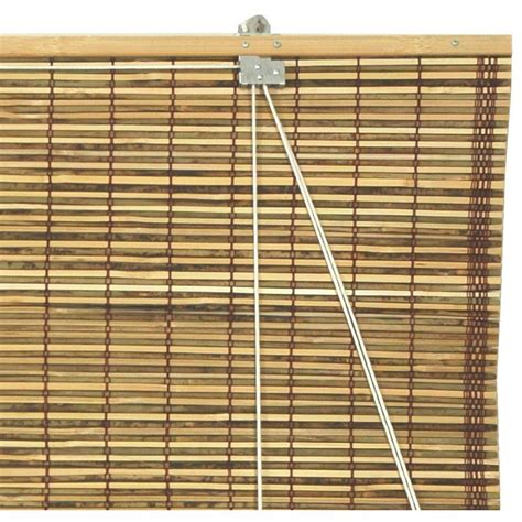 roll up bamboo blinds burnt bamboo roll up blinds tortoise orientalfurniture