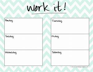 cute weekly planner template health pinterest With fitness plan template weekly