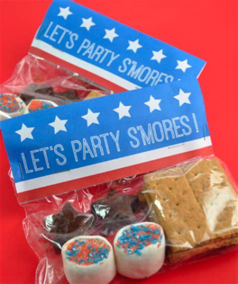 smores craft ideas patriotic s mores packs family crafts 2952