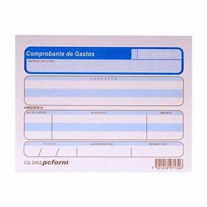 COMPROBANTE DE GASTOS 50 HJS 1/4 CARTA 4 PIEZAS PCFORM OfficeMax