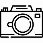 Camera Icon Svg Line Version Icons Birthday