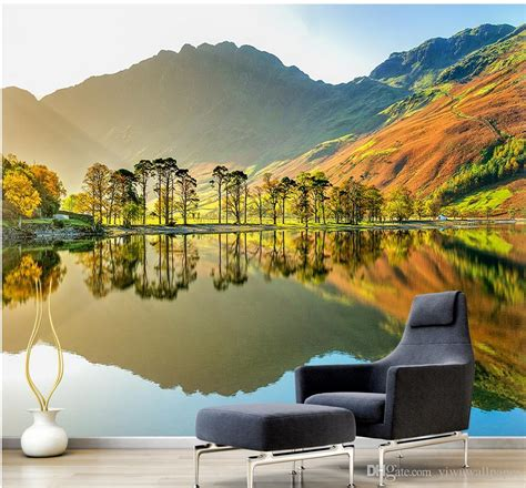 3d Scenery Wallpaper by Custom Any Size 3d Scenery Mural Background Wall