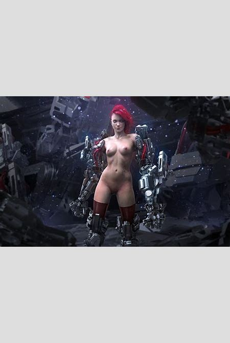 Picture Naked Cyborg Girls Fantasy