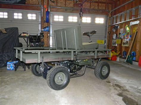 M274 Military Mule Half Scale Home Build