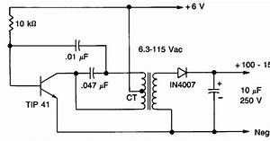 High Voltage Power Supply Wiring Diagram Schematic    Diagram Guide