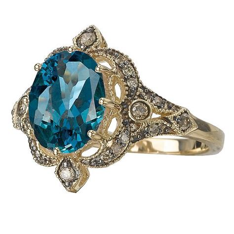 Blue Topaz With Cognac Diamonds Ring  Colored Stone Rings. Lsu Rings. Celebrity Man Engagement Rings. Cabochon Wedding Rings. Judy Niemeyer Wedding Rings. Corner Border Wedding Rings. Human Eye Rings. Imperial College London Rings. Different Style Rings