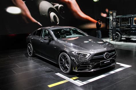 2018 Detroit Auto Show Mercedesamg Cls53