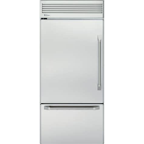 ge monogram bottom freezer refrigerator  cu ft zicpnx sears