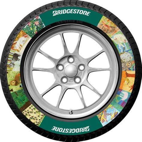 bridgestone custom colored tires announced autoguidecom
