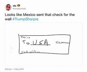 Trump Shows a F... Sharpie Trump