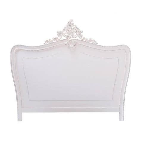 tete de lit en bois blanche   cm comtesse maisons du monde